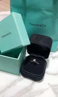Tiffany 33份鑽石4爪戒指  附證書 0.33ct Diamond Ring with certificate
