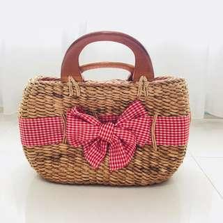 [For Rent] Rattan Bag