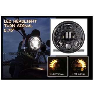 LED HEAD LIGHT FOR HARLEY,CAFE RACER & COOPER