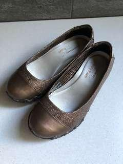 SKECHERS Relaxed Fit®: Bikers - Glitzy Sparkle shoe - Brown