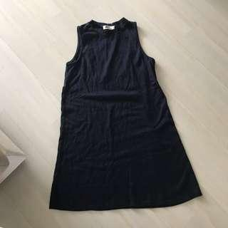 🚚 ❤️❤️❤️ basic navy blue shift essential dress