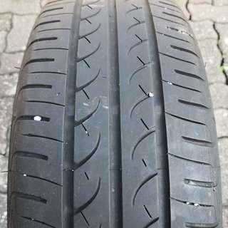 Used 185/60/R15 Yokohama BluEarth AE01
