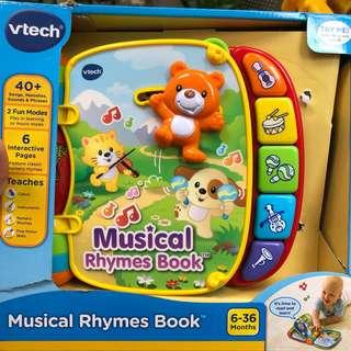 🚚 vtech musical rhymes book