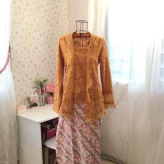 Kebaya Lace with Pario Skirt #FEBP55