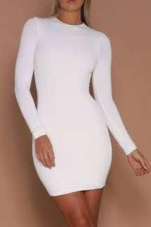 Meshki - Kylie Dress - White