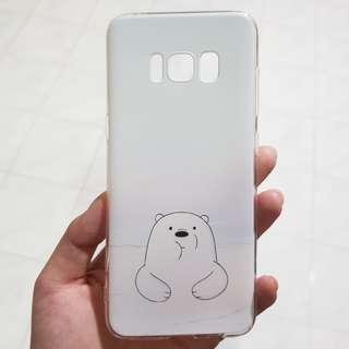 NEW We Bare Bear ice bear samsung s8 case