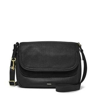 Fossil peyton double flap large