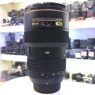 Nikon af-s 16-35mm