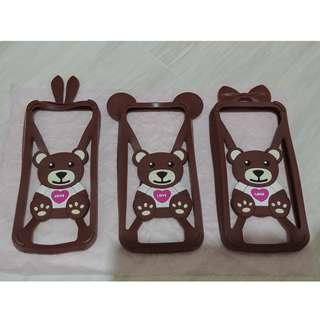 Bumper case HP disney pooh mini mickey mouse bear stitch