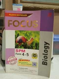 Biology SPM Form 4-5 FOCUS