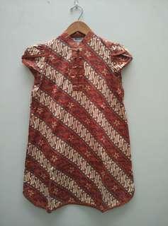 #Jumat80 Mini Dress Batik