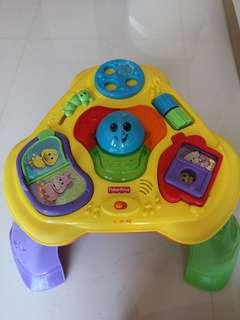 🚚 Fisher Price Activity musical Table