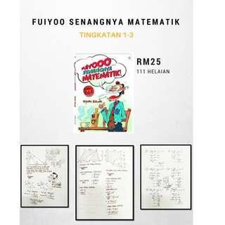 Buku FUYOO SENANGNYA MATEMATIK (TINGKATAN 1-3)