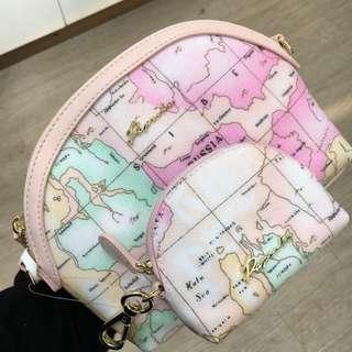 Paprika map bag set