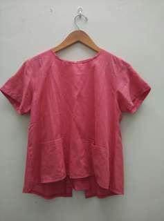 #Jumat80 Pink Blouse