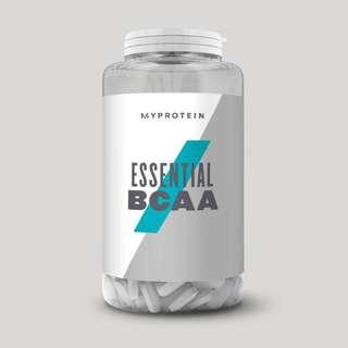 BCAA 270 Tablets-MYPROTEIN (USED)