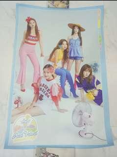red velvet summer magic limited edition poster instock