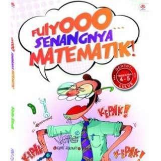 Buku FUYOO  SENANGNYA MATEMATIK (TINGKATAN 4-5)