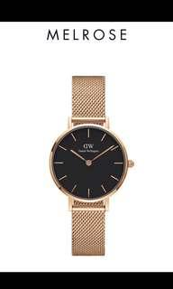 Daniel Wellington petite black melrose original