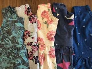 Girls dress set