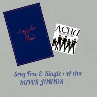 Super Junior Sexy Free & Single Free ACha album