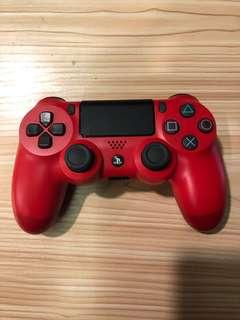 Ps4 controller (red colour)