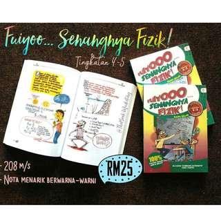 Buku FUIYOO SENANGNYA FIZIK  Tingkatan 4 hingga 5