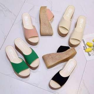 [READYSTOCK] Casual Wedges