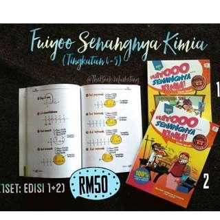 Buku FUIYOOO SENANGNYA KIMIA TINGKATAN 4-5