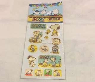 Snoopy Linus 貼紙(絶版)