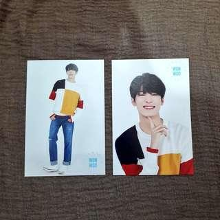 [⚠️CLEARANCE SALE⚠️] Seventeen Wonwoo Japan Cafe Postcard