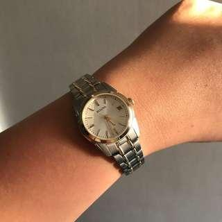 Bulova Womens 26mm Classic Two Tone Stainless Steel Dress Watch