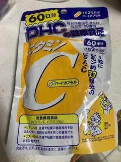 DHC健康食品 維他命C 加強抵抗力 $40 超抵