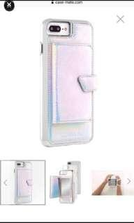 Case-mate iPhone 7/8 Plus iridescent compact mirror case