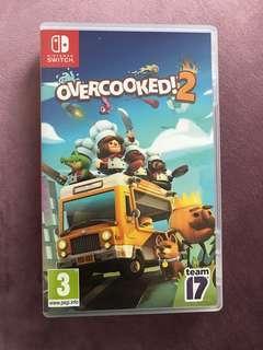 🚚 overcooked 2 Nintendo switch game