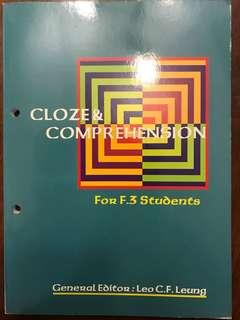 Cloze & Comprehension Ex. #english#learning#writing#reading#exercises#secondary#school#hkdse