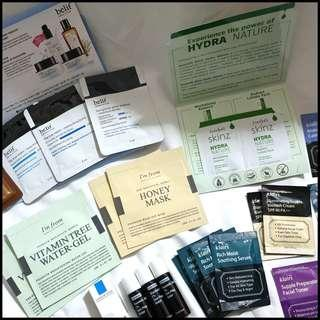 🚚 [Mailed] Skincare Samples