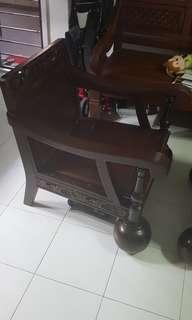 Soild wooden table and chairs 3 Pcs $250