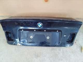 Bmw E46 boot & lips spoiler