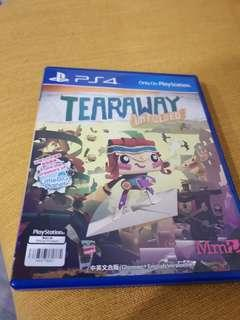 🚚 PS4 Game Tearaway Unfold