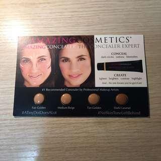 包郵Amazing Cosmetics Concealer 遮瑕 試用 Sample