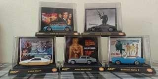 Shell James Bond collectibles cars. Full set.