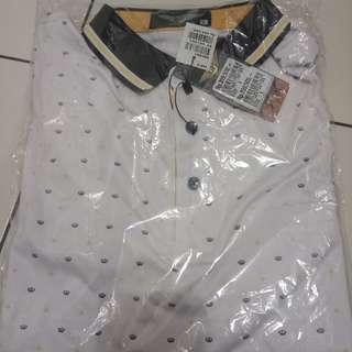 Polo T-shirt merk GUFO ORIGINAL size L
