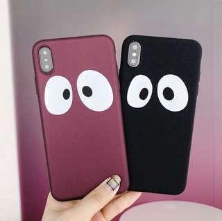 🚚 iphone big eye phonecase