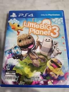 🚚 PS4 Game LittleBig Planet 3
