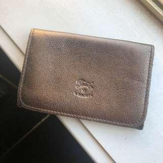 leather wallet from italy