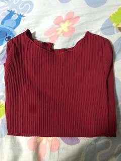 紅色直間上衣