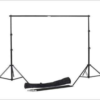 🚚 BN Portable Event Backdrop Stand (Telescopic Bar Max 3m)