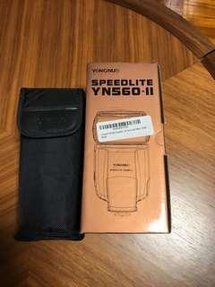 YONGNUO YN560-II speedlite 閃光燈