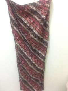 Rok kebaya batik plus selendang